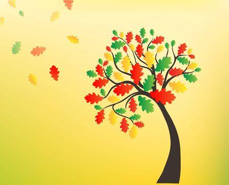 composition art: Autumn background