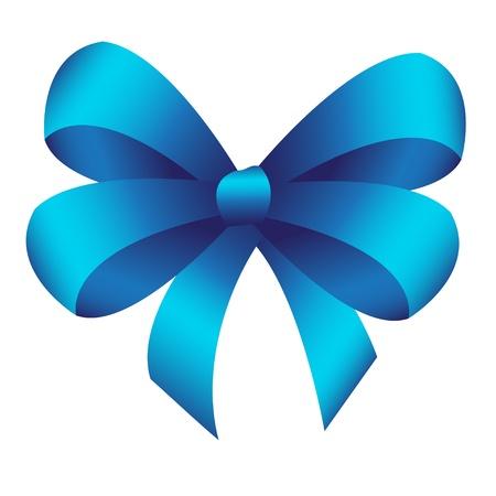blue bow Stock Vector - 15685942