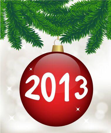 Christmas card, vector Stock Vector - 16078323