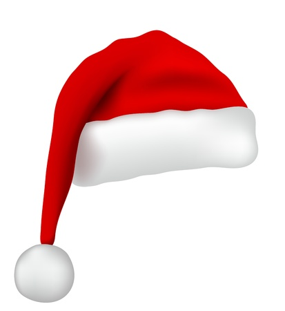 Santa Claus hat Иллюстрация