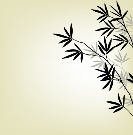 korean traditional: bamboo background