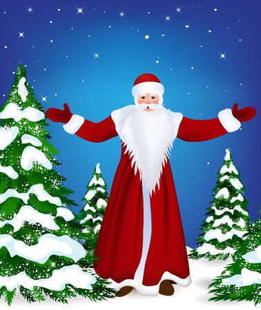 Santa Claus Stock Vector - 16454175