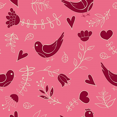 floral seamless pattern Stock Vector - 18227735
