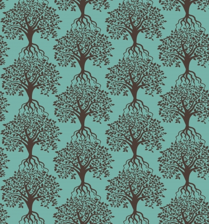 trees pattern Stock Vector - 18460689