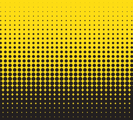 halftone dots: abstract background Illustration