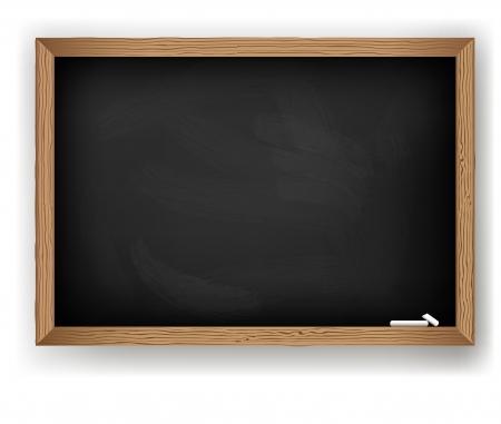 Blackboard geïsoleerde