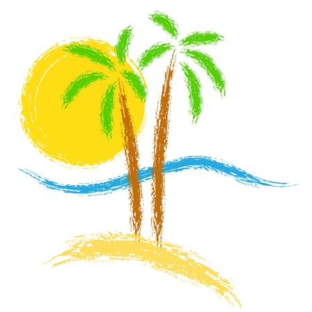 Summer vector Stock Illustratie