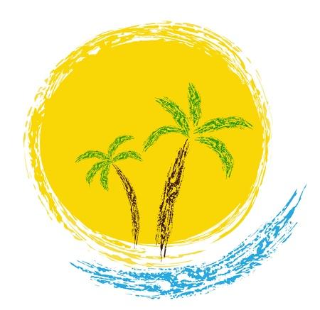 Summer vector Stock Illustratie