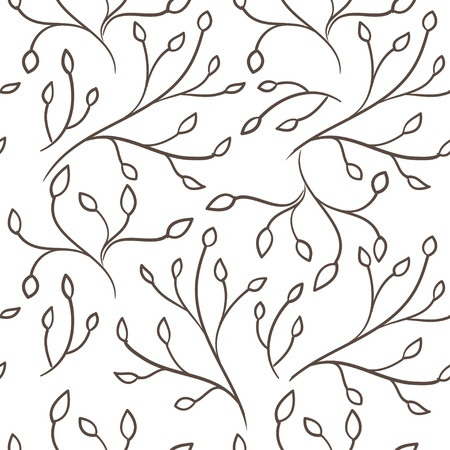 Wallpaper leafs Vector