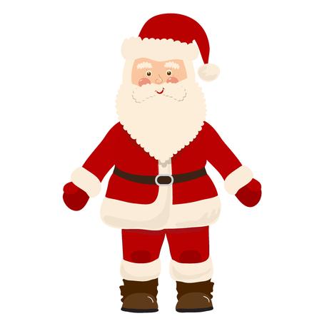 white bacjground: Santa Claus isolated on white