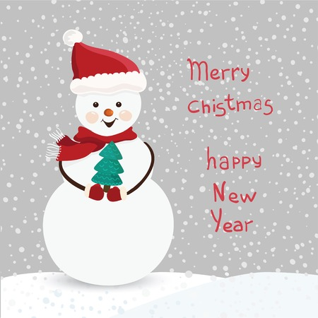 Happy New Year card in vector Vector