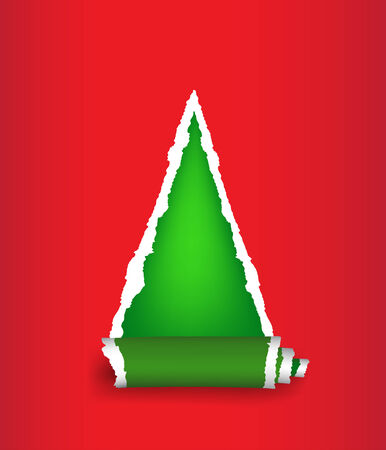 Christmas tree Vector