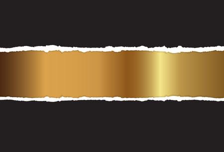 haltbarkeit: Gold background Illustration
