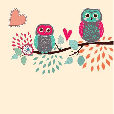 Cute card Vector