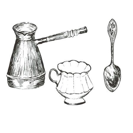lump: Turk, cup, spoon