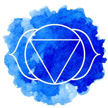3rd: Ajna chakra Illustration