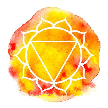 manipura: Manipura chakra Illustration