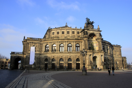 oper: Semperoper in Dresden