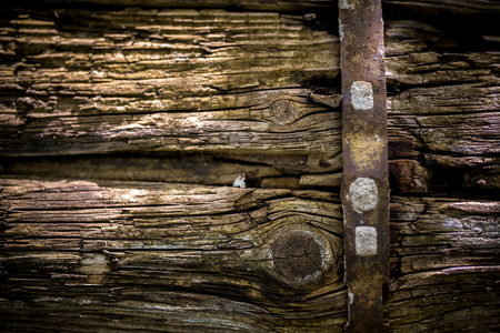 ironmongery: wooden background