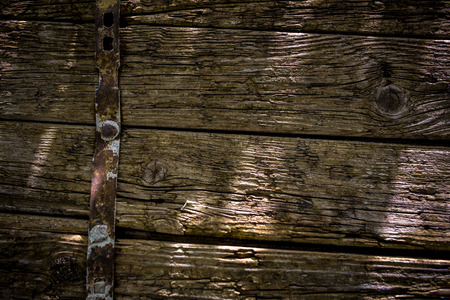 ironmongery: fondo de madera Foto de archivo