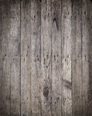 Old Wooden Boards with the Hammered Rusty Nails Background Stock Photo - 16855346