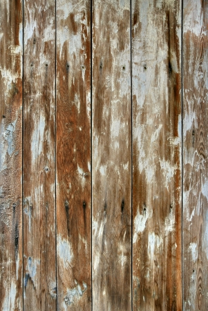 Old Warm Shabby Wooden Panel  Background