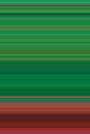 width: Abstract Background from Pixels of small width, Green Red color strips, illustration Stock Photo