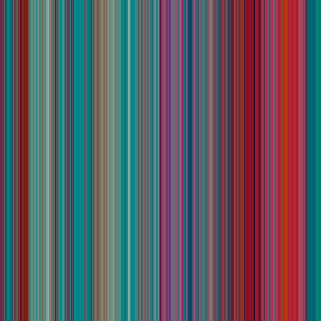 width: Abstract Background with Pixels of Small Width, thin Red and Turquoise color strips, illustration Stock Photo