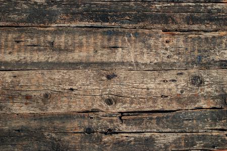 Old Cracked Wood Background with Knots. Vintage background Stok Fotoğraf