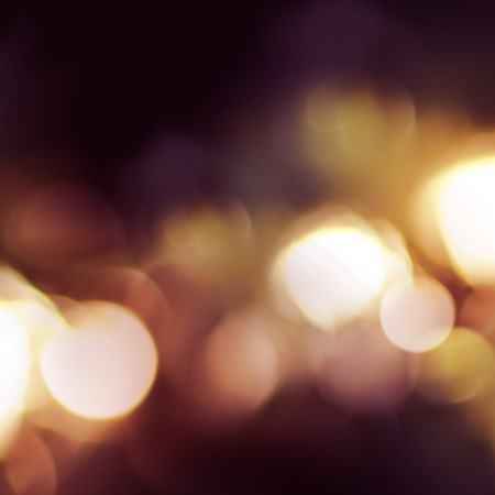 claret: Bright Night Fires in a defocused on a square photo. claret and yellow color. Vibrant Background