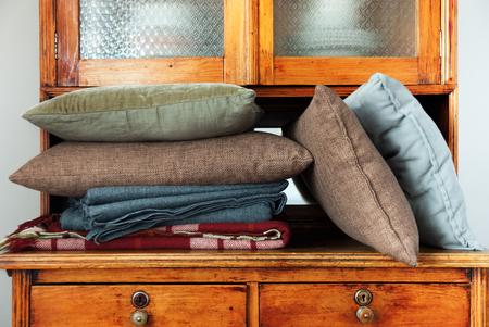 throw cushion: Pillows Lie Regiment Buffet House Furniture Storage Interior Retro