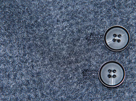 Two buttons on the cashmere