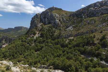Albercutx's Watchtower. From here, you can see Cape Formentor, the Colomer islet, the Pollença bay, the Sierra del Cavall Bernat and the rest of the Sierra de Tramuntana.