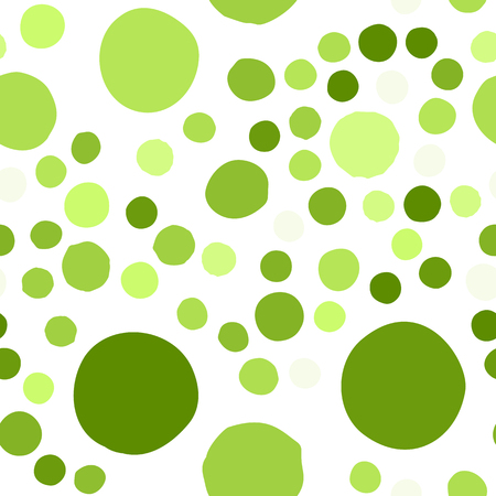 colors paint: Seamless pattern with hand drawn colorful scattered confetti spots. Illustration
