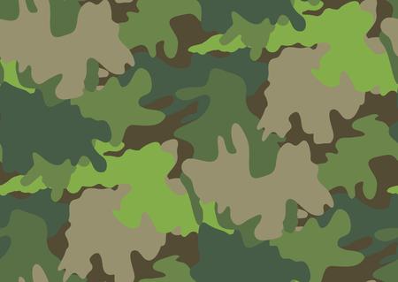 Patrón transparente de camuflaje en tonos de verde, marrón, colores beige.