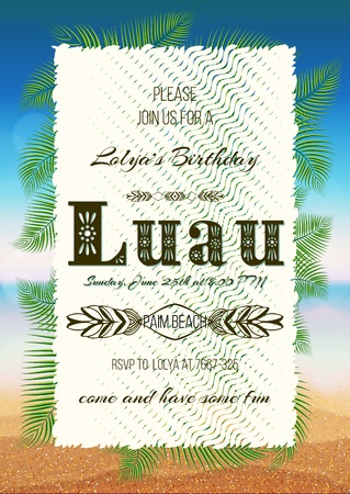 luau invitation stock photos royalty free luau invitation images
