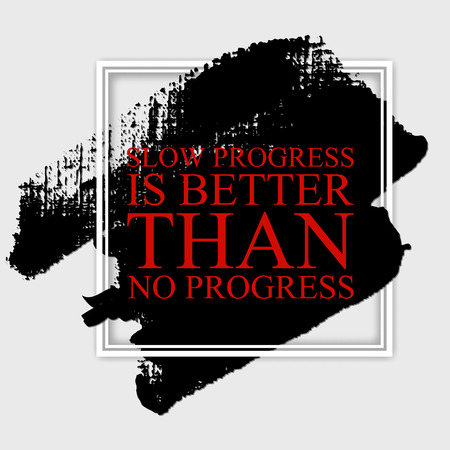Fall in love with the process and the results will come- inspirational quote on the hand drawn ink texture pattern. Fitness motivational poster template, gym print design.