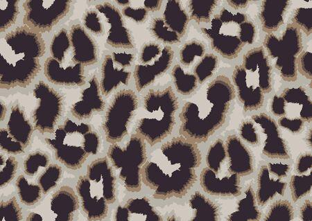 Conception de modèle sans couture de peau de léopard abstraite audacieuse. Imprimé animal Jaguar, léopard, guépard, panthère. Fond de camouflage sans soudure.