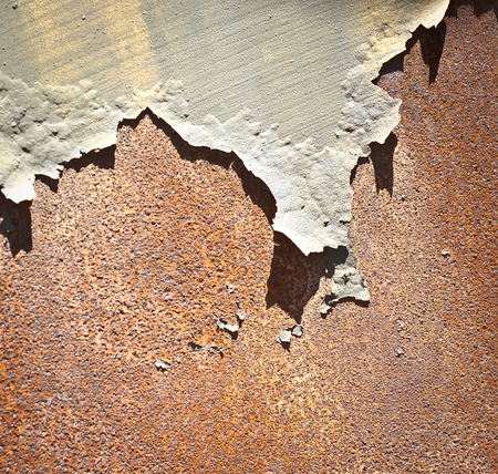 stuartkey: Rusty metalRusty metal & Peeled Paint Stock Photo