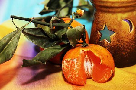 juicy and bright fruit, fresh oranges, xmas