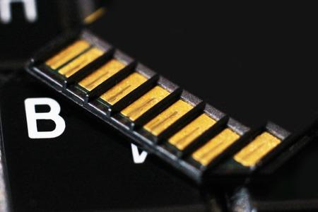 Computer memory card, new technologies, so close