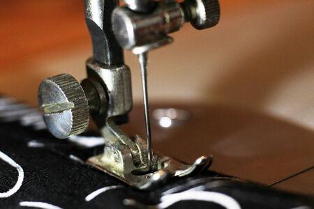 sewing machine overlocker selective focus