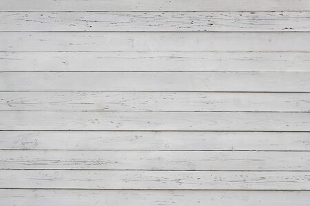 weathered wood plank fence, old background Stock Photo