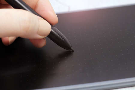 Electronic drawing pen tablet, new technology so close