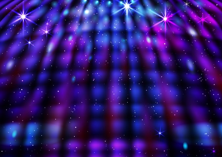 Abstract Disco Background.
