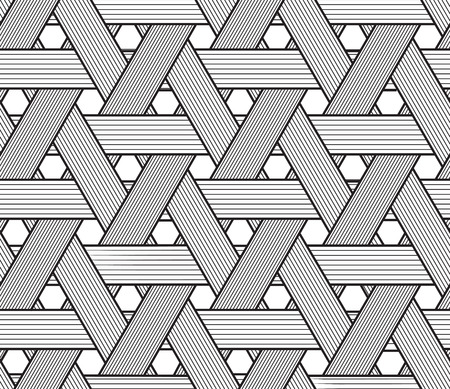 hexagone: Easy to change color. Seamless pattern. EPS 10. Mask was used.