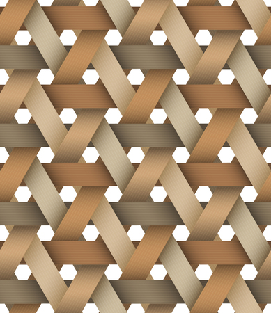 hexagone: Seamless pattern. EPS 10. Mask was used.