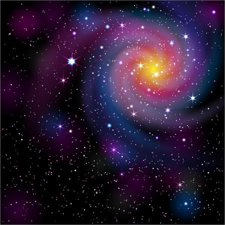 Galaxy Background. Stock fotó - 80538072