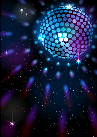 Disco Ball. Vector background. Stock fotó - 80538533