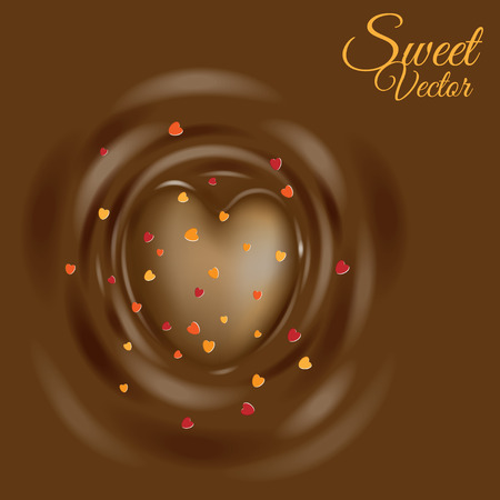Chocolate Heart.